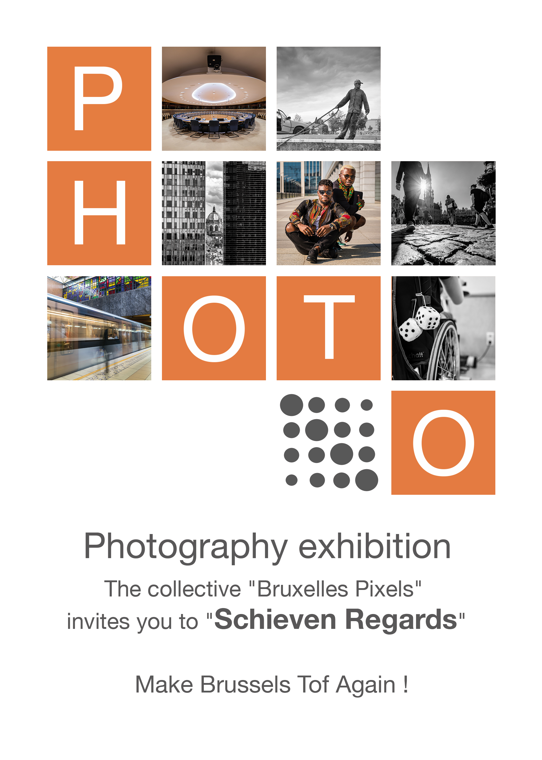 «Schieven Regards» a photography exhibition by Brussels Pixels, Oct 2018